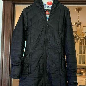 Columbia, Omni heat thin jacket
